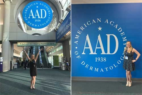 Dr. Amanda Lloyd attended the American Academy of Dermatology Annual Meeting this month