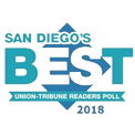 Dr. Amanda Lloyd, best of san diego's, badge