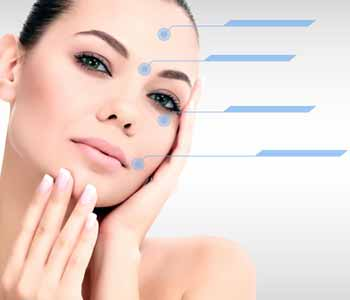 Botox treatment is used to address lines and wrinkles.