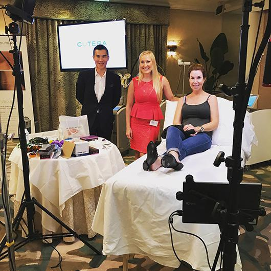 Dr. Amanda Lloyd was a speaker at Cutera's Aesthetic Summit