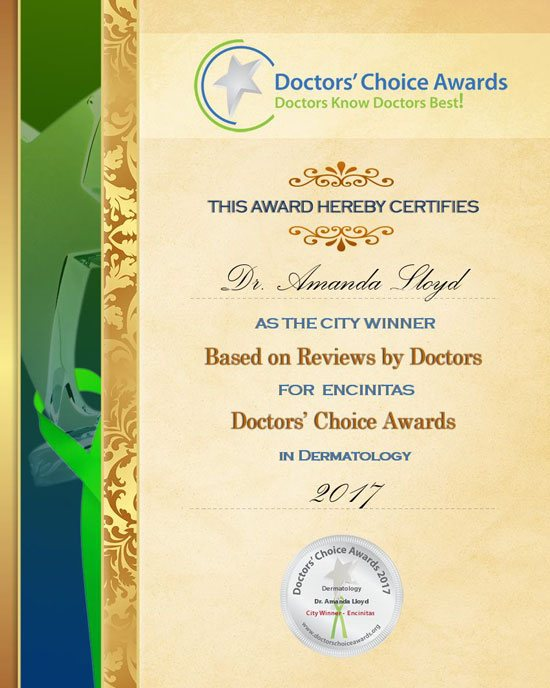 DCA winner 2017 certificate