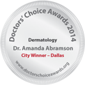 Dr. Amanda Lloyd, Doctors' Choice Award - 2014