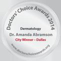 Dr. Amanda Lloyd, Doctors' Choice Award - 2014