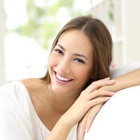Young Beautiful Smiling Woman