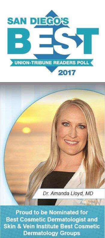 San Diego's best cosmetic dermatologist banner