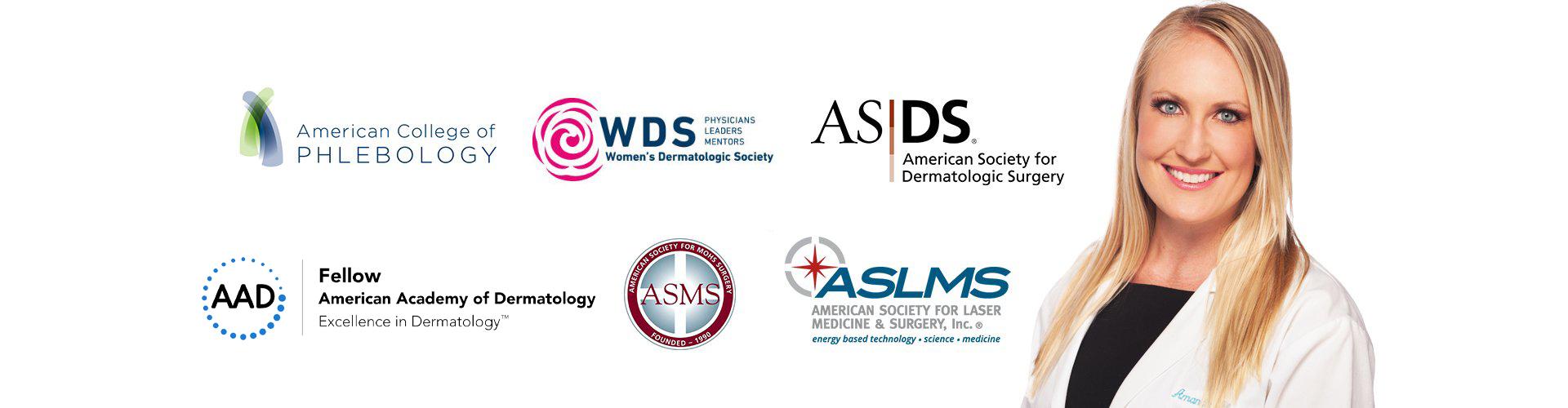 Dr. Amanda Abramson Lloyd and her memberships Slider